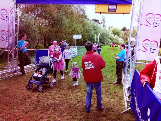 Race for Life at Torbay by Sebastian Underhill