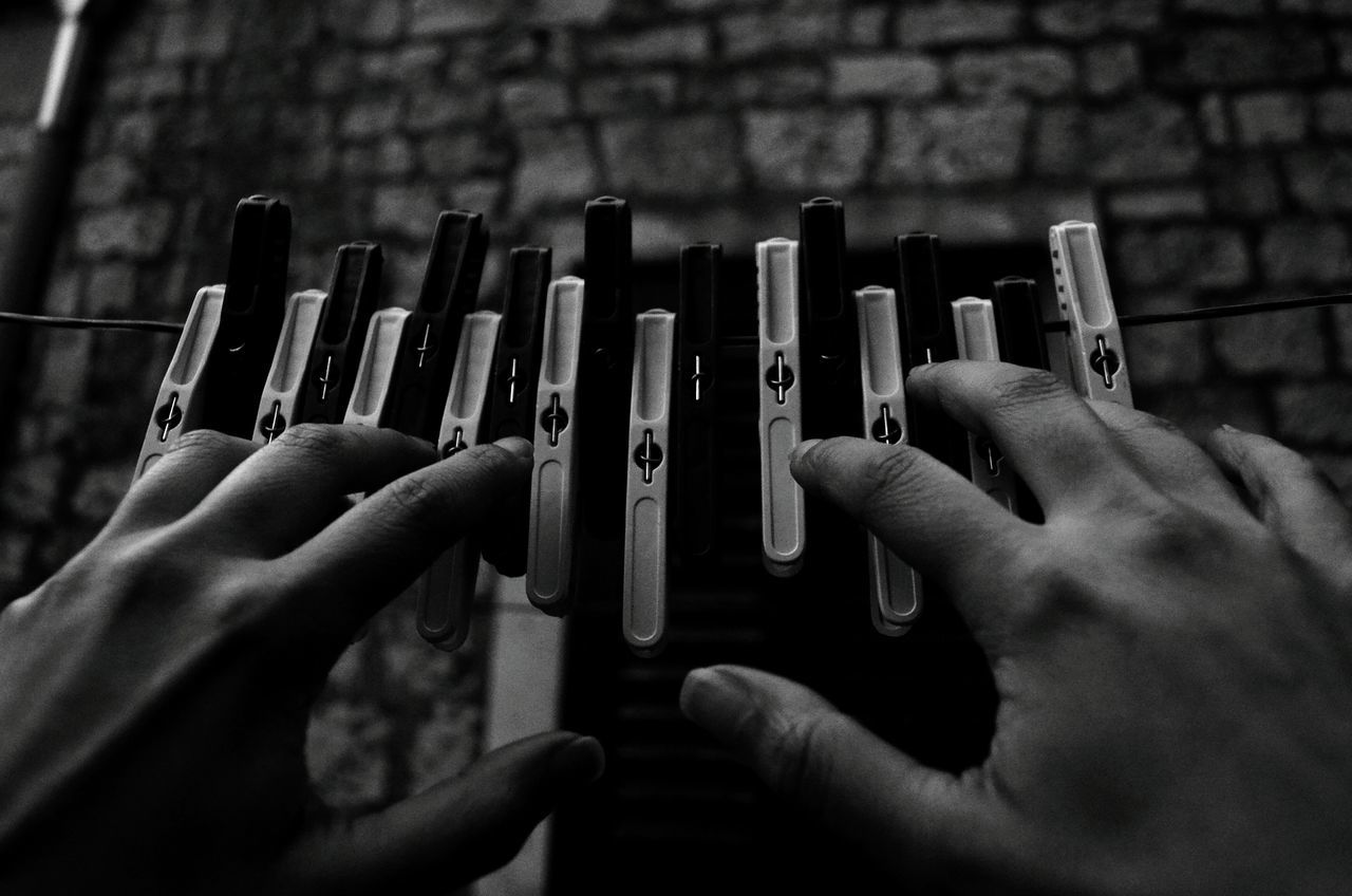 Human Hand Human Body Part Close-up Black&white Hands Hands At Work Hands Playing Instrument Piano Keys Piano Moments Artistic Expression Human Finger Artistic Photography Black And White Photography Black And White Collection  Artistic High Angle View Blackandwhitephotography People Piano Moments