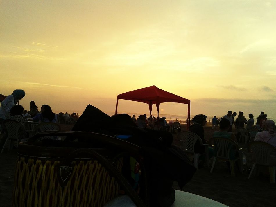 Ramadhan FTOUR Beach crépuscule