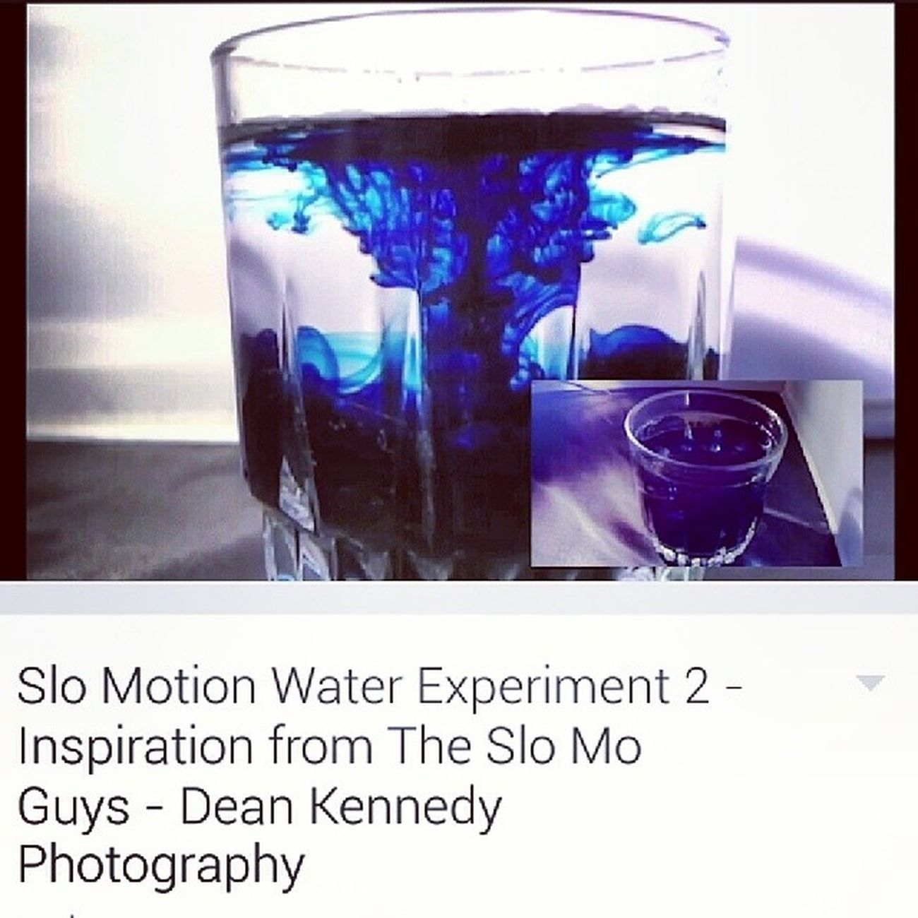 If you have not watched my Slowmotion Slomotion Water experiment Youtube video, head over to my Facebook page and take a look! www.fb.com/deankennedyphotography movement creative blue beauty light red green red colors water