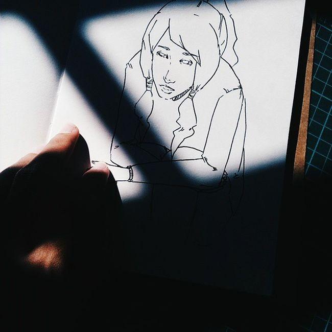 Korra ❤ Vscocam Vscomalaysia Sketch Lineart Korra Legendofkorra Art_spotlight Dailyart MyArt Annasiihah Annabam