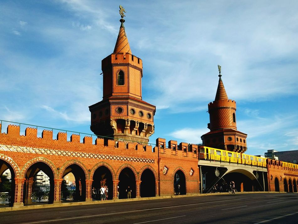 Beautiful stock photos of transport, Architecture, Berlin, Bridge - Man Made Structure, Building Exterior