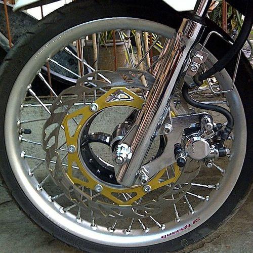Modification Motorcycle Tromol Ninja Velg TDR