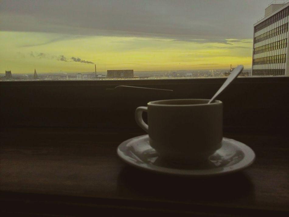 Rembering London Having Coffee Mh