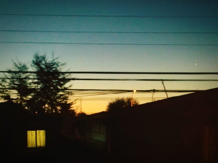El cielo de temuco desdo mi pieza