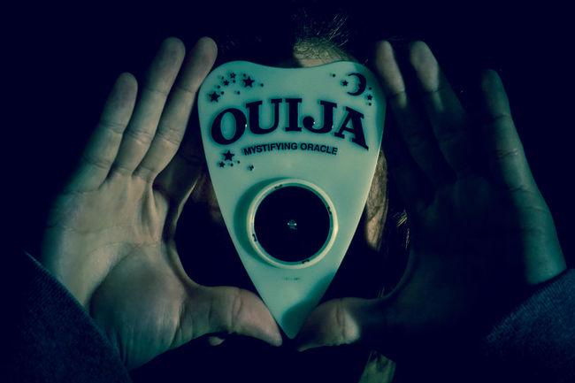 Creepy Ouija Board  Ouija Studio Close-up Selective Focus