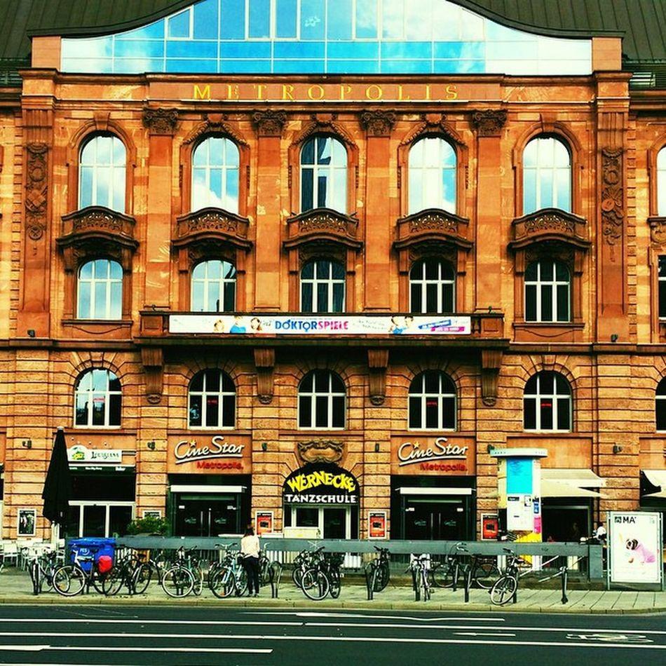 Metropolis Cinestar Volksbildungsheim Frankurt Eschenheimerturm Frakfurtcity Frankfurtlovers Frankfurtmylove Frankfurtdubistsowunderbar