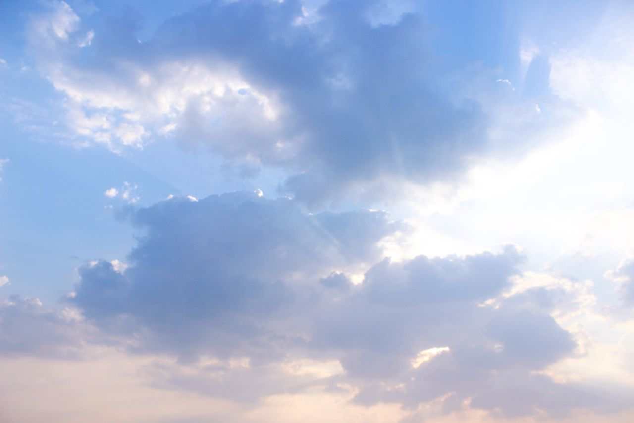 Sky Cloud - Sky Nature Beauty In Nature Low Angle View Tranquility Scenics No People Cloudscape Tranquil Scene Sky Only Outdoors Backgrounds Day