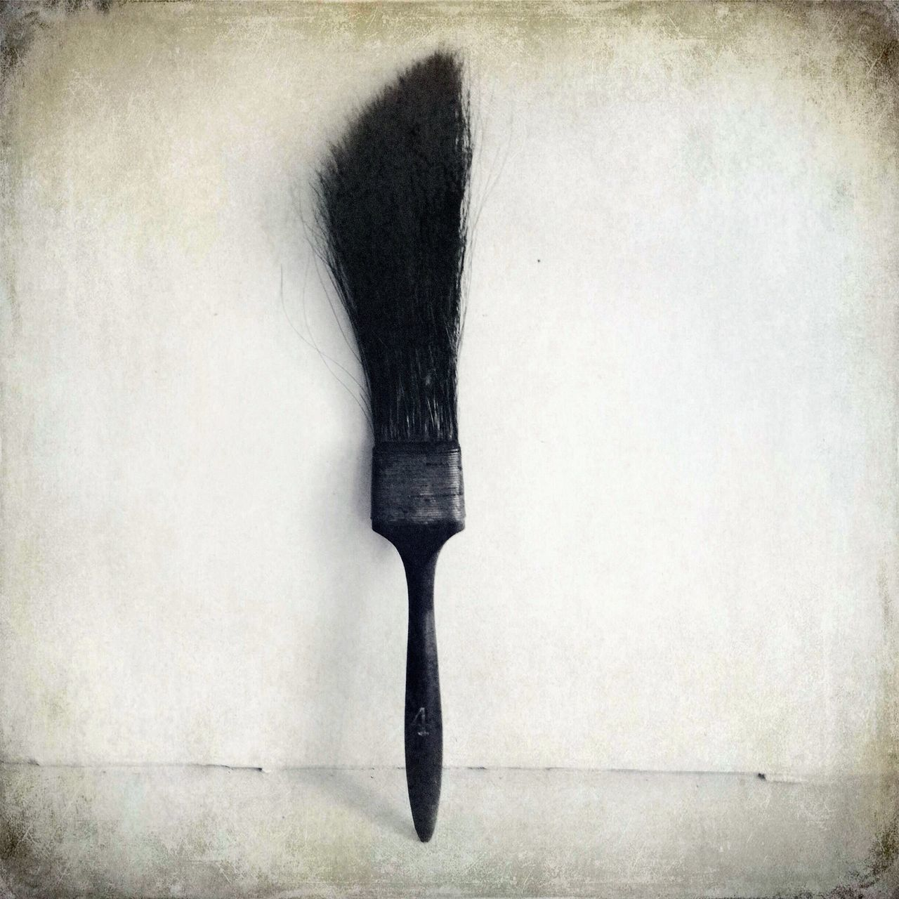 Beautiful stock photos of paint, Art And Craft, Black Color, Brush Stroke, Directly Above