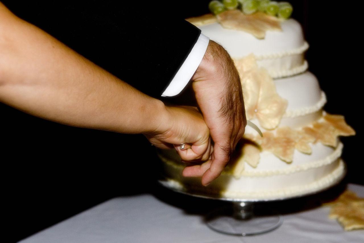 Beautiful stock photos of wedding cake, Bride, Bridegroom, Celebration, Couple - Relationship