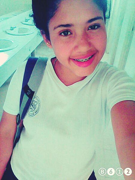 In the school
