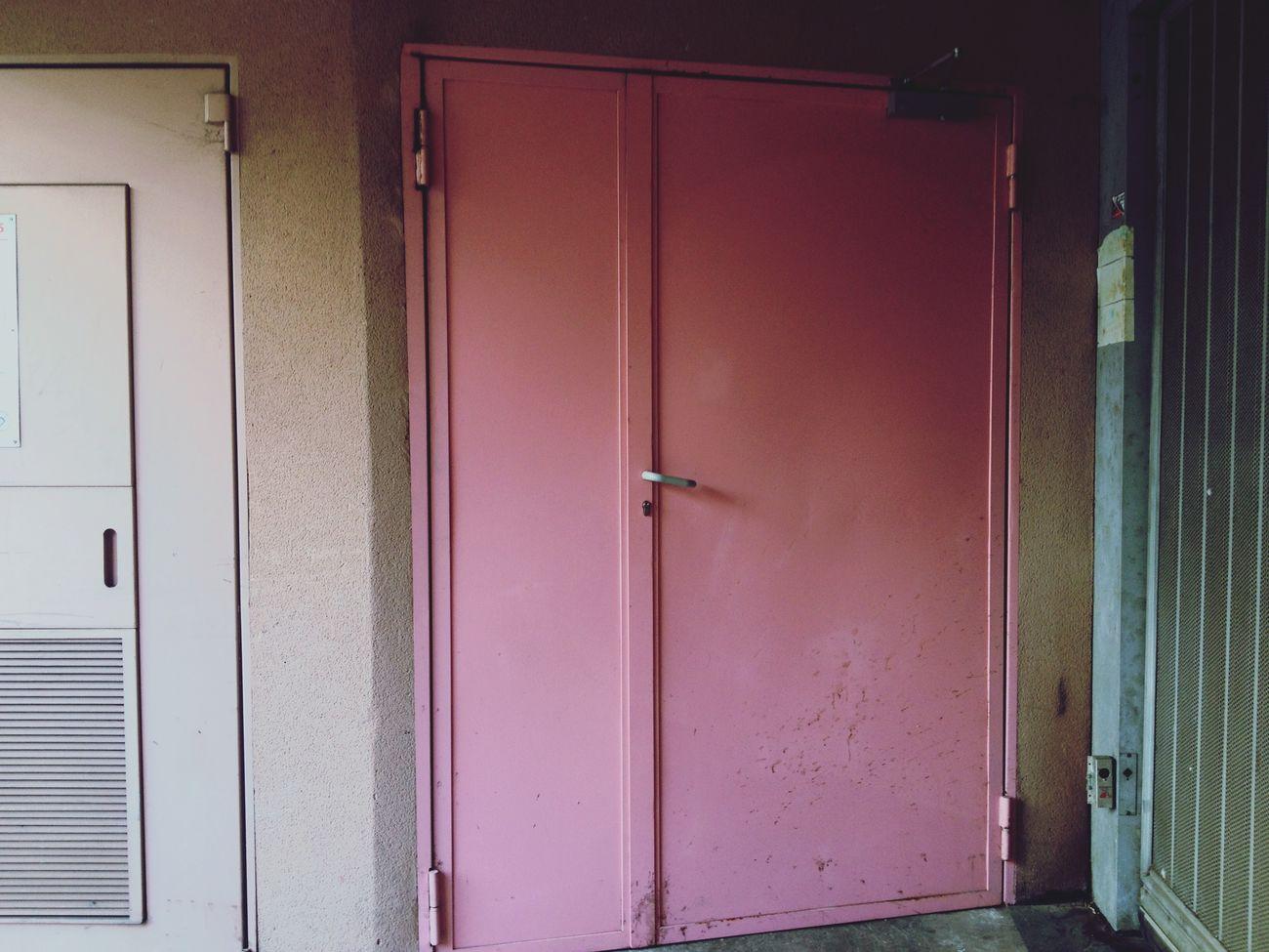 Une Porte Simplette - Rose
