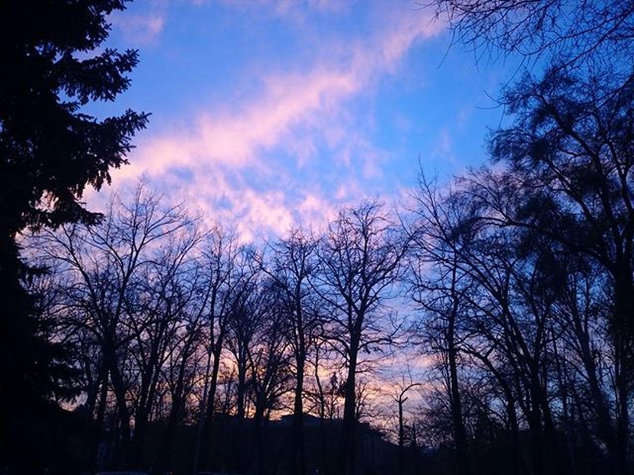 Une Tresbellesoiree Lavieestbelle душевныйвечер предзакатноенебо Blue Wave