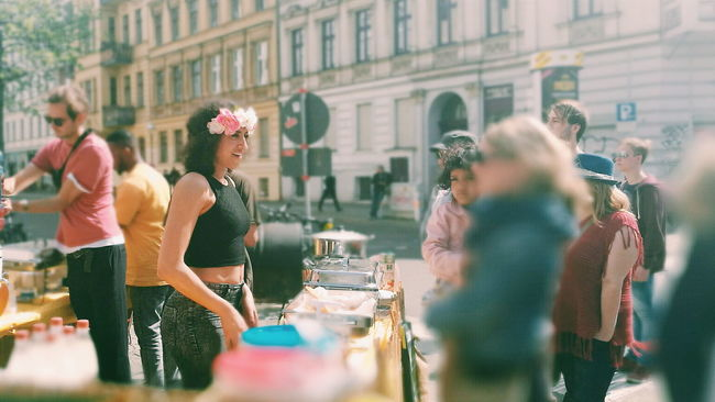 HuaweiP9 Enjoying Life Eye4photography  My Favorite Photo Mobilephotography VSCO Let Your Hair Down Portrait Portrait Of A Woman Streetphotography Streetphoto_color Street Photography People Watching May Day My Fest My Fest 2016 Street Portrait The Portraitist - 2016 EyeEm Awards The Street Photographer - 2016 EyeEm Awards