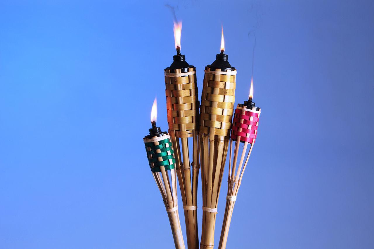 pelita or oil lamp symbol of Ramadan Aidilfitri Bamboo Celebration Cultural Cultures Decoration Eid Eid Mubarak Festival Festive Hari Raya Hari Raya Aidilfitri Lamp Light Muslim Oil Lamp Ornament Pelita Ramadan  Religion