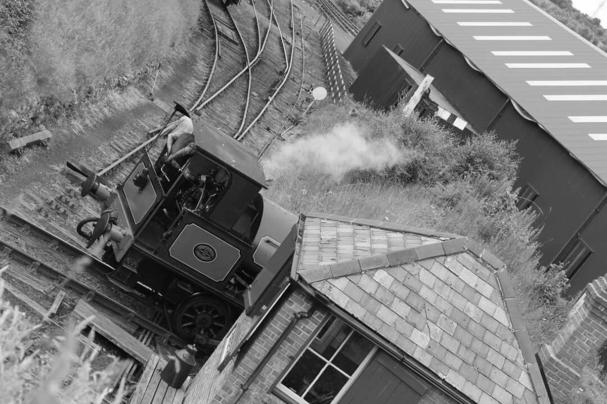 Tried a different angle Tanfield Railway