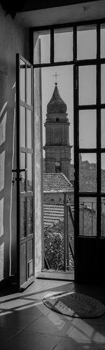 From my point of view a little altar. Two Framed Churches in Italy) Sitting in a kitchen and looking out of the Window Altars Windows Artistic Architecture_collection Monochrome Landscapes With WhiteWall Frame It! Light And Shadow Seeing The Sights Architecture_bw Bw Blackandwhite Black & White Blackandwhite Photography Black And White Door Open Door The Architect - 2016 EyeEm Awards Blackandwhitephotography Black&white Liguria