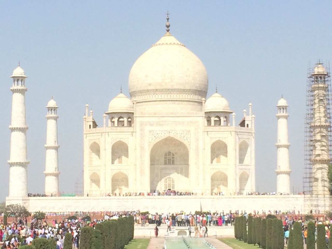 Taj Mahal unfiltered - Agra, India 2017 Dome Architecture Large Group Of People Travel Destinations Building Exterior Built Structure Cultures Travel Tourism Outdoors Arch Façade Lifestyles History Clear Sky Real People Day Tomb Women Men Taj Mahal Tajmahal India Tajmahal