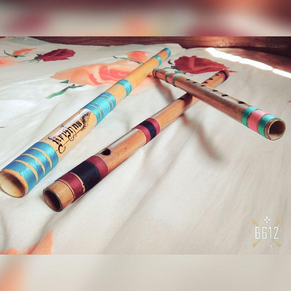 My flute Love ♥ Music Flutist Krishna $k First Eyeem Photo