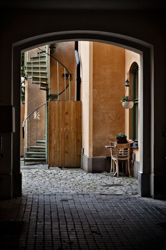 Street view of Stockholm Old Town (Gamla Stan), Stockholm, Sweden. Architecture Building Europe Gamla Stan Old Town Scandinavia Stockholm Street Street Photography Streetphotography Sweden