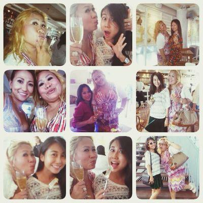 Portrait Enjoying Life Bali Ladies Champagne Club Hello World
