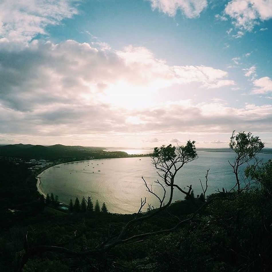 The view from the summit.. Vscocam Mounttomaree Tomaree Tomareenationalpark Psiloveyou Portstephens