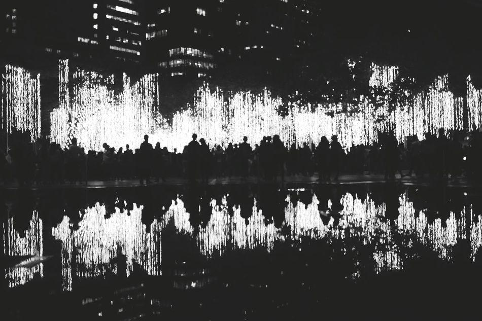 Reflections Fuji Fujifilm_xseries Fujixa2 Lights Ayala Ayalatriangle Lights Show
