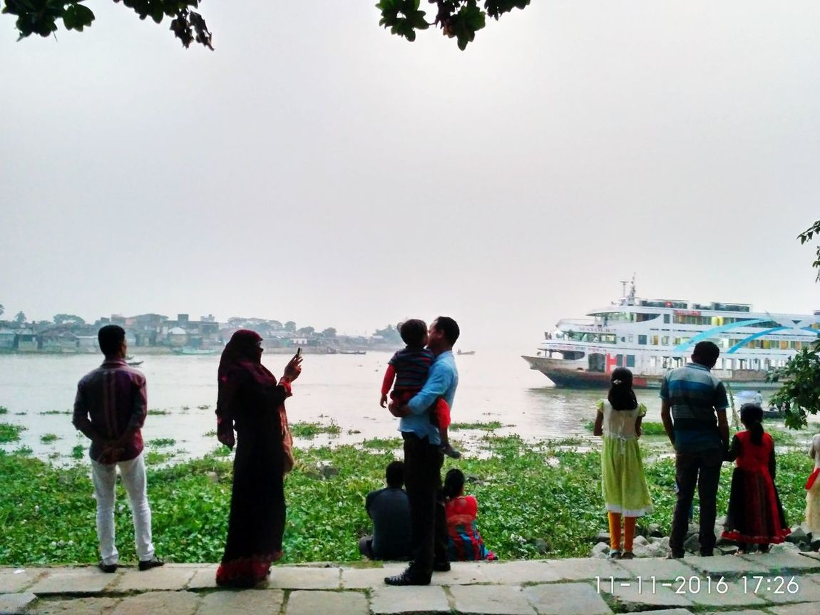 🇧🇩🛳️ Water Sea Real People Leisure Activity Outdoors Public Transportation Sailboat