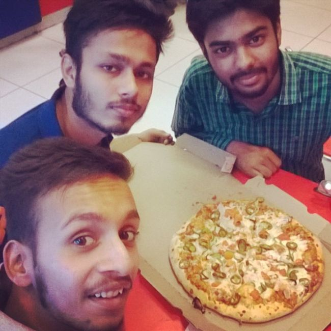 @gargmonty Dominoz Pizzatym Frndzforever Bathinda bathindadiaries