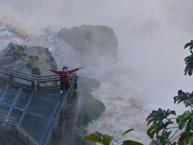 Iguassufalls Brazil Argentina Nature Falls Foz Do Iguaçu Puerto Iguazu