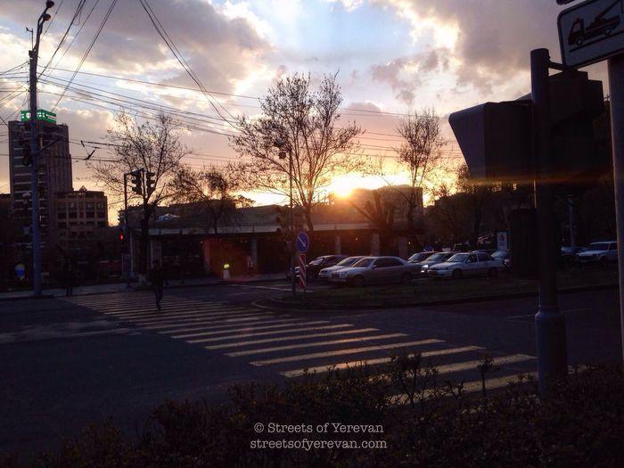 Here Belongs To Me StreetsofYerevan Yerevan Armenia Sunset Streetview