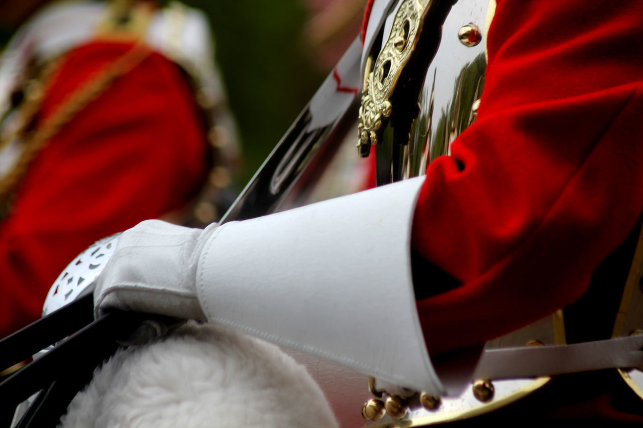 Trooping of The Colour London England Adult Cavalry Close-up Day England Focus On Foreground Household Cavalry Human Body Part Human Hand London Men One Person Outdoors People Real People Tourism Trooping Of The Colou Uniform