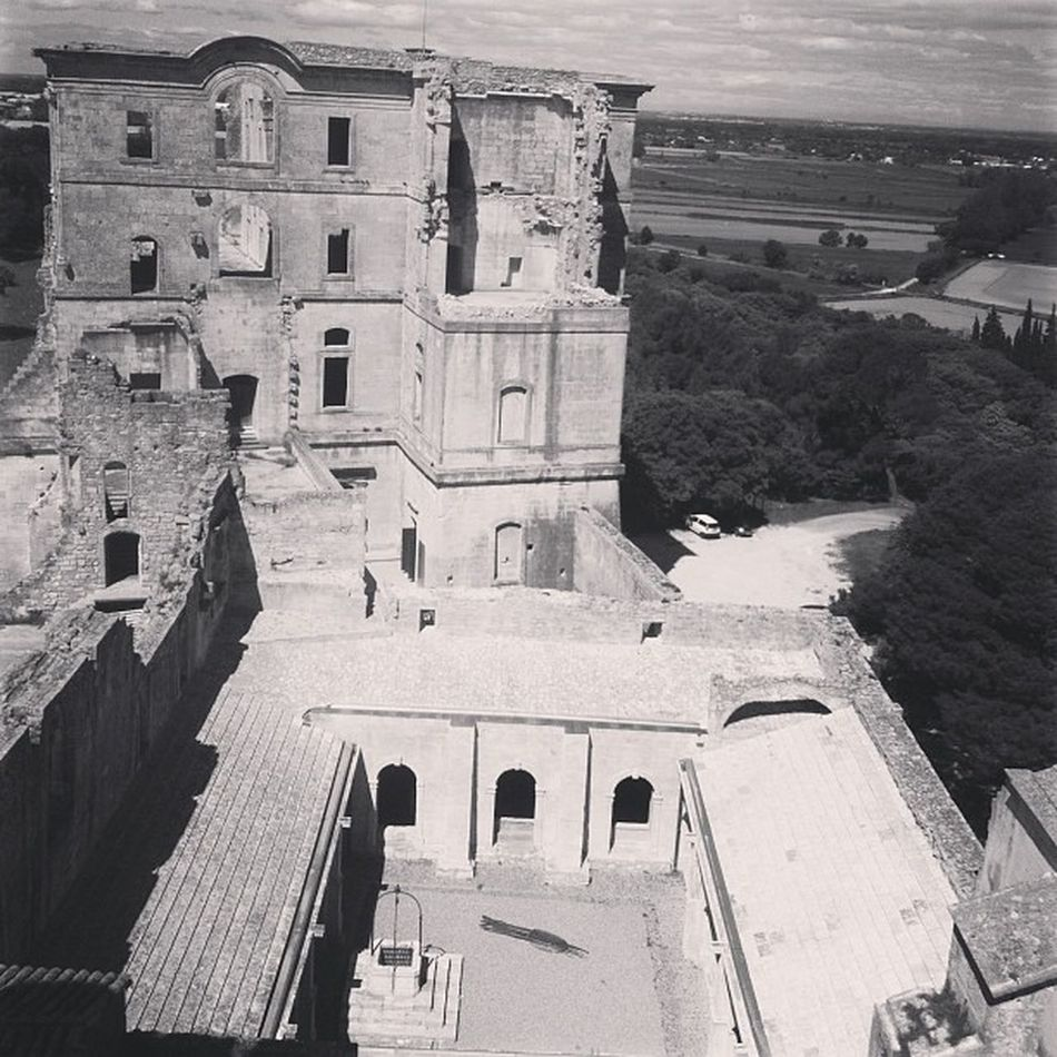 12th century abbey showing an exhibition curated by Christian Lacroix