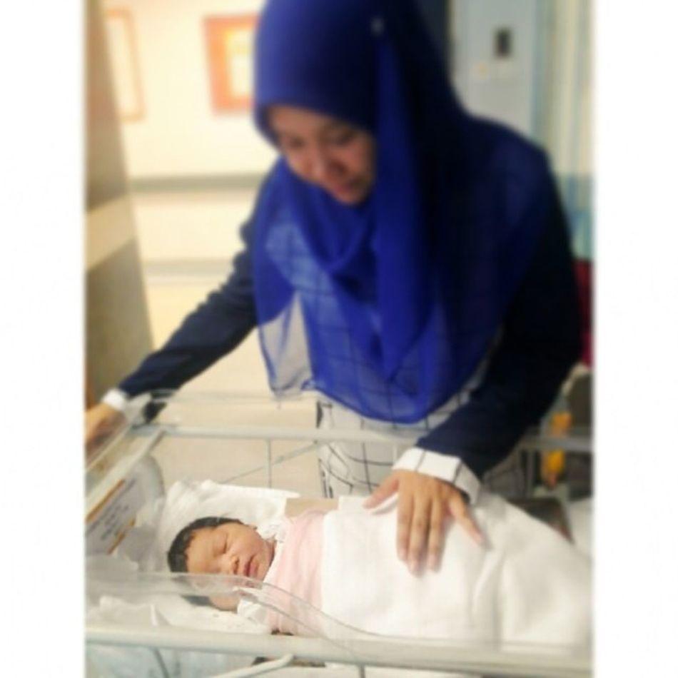 7 days of memories Day 5-this lil girl bring us a happiness and joy.. Baby Newborn Niece  Hariinipunyacerita