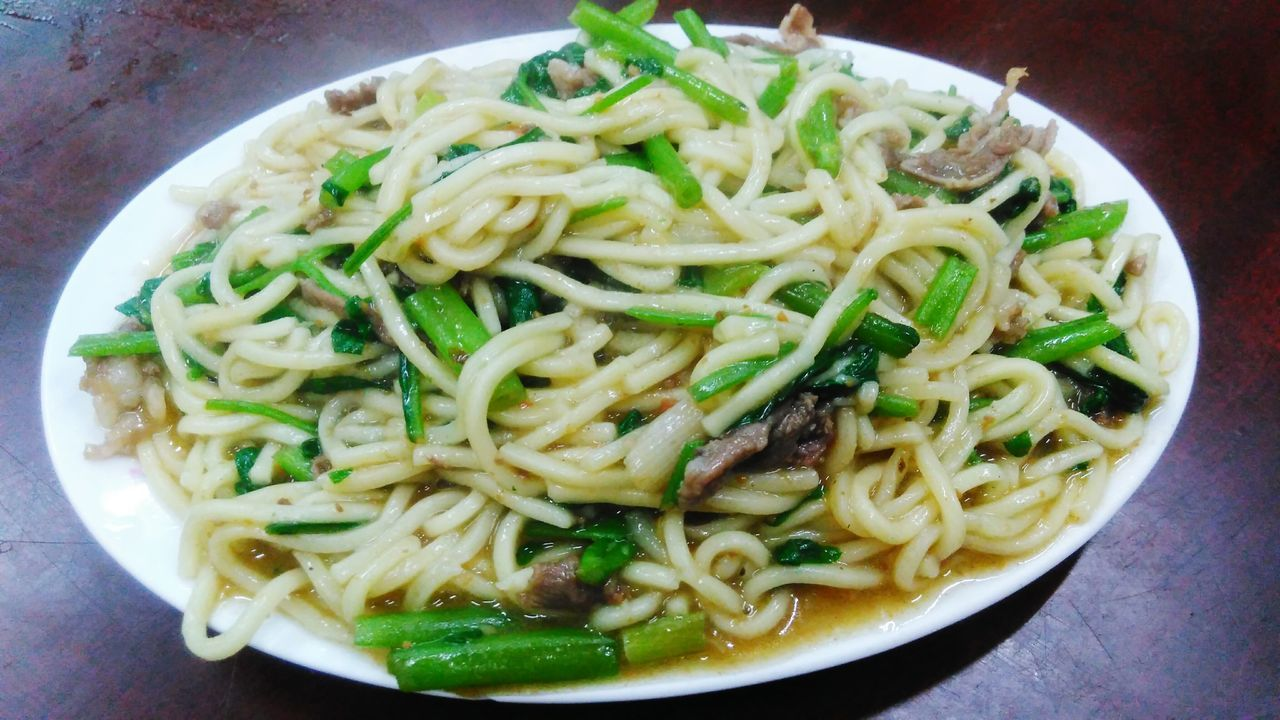 羊肉炒麵 Lamb Fried Noodles