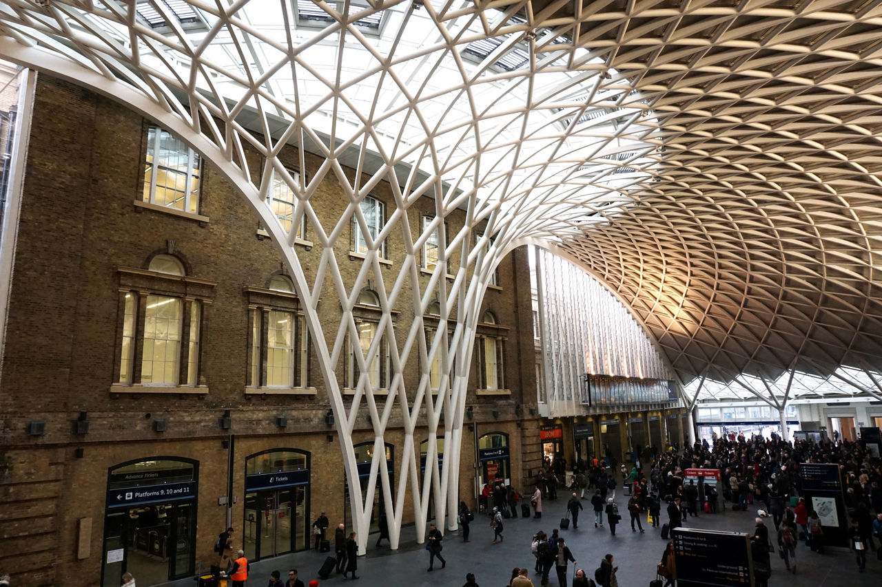 London Life // Kings X Stations // Sony a6000 // Adult Architecture Built Structure Day Geometric Shape Indoors  Kings Cross Kings Cross Station Large Group Of People London London Lifestyle Modern People Real People Sony A6000 This Week On Eyeem Tourism Tourist Train Train Station Travel Travel Destinations Women The Street Photographer The Architect - 2017 EyeEm Awards The Great Outdoors - 2017 EyeEm Awards The Street Photographer - 2017 EyeEm Awards Neighborhood Map Place Of Heart