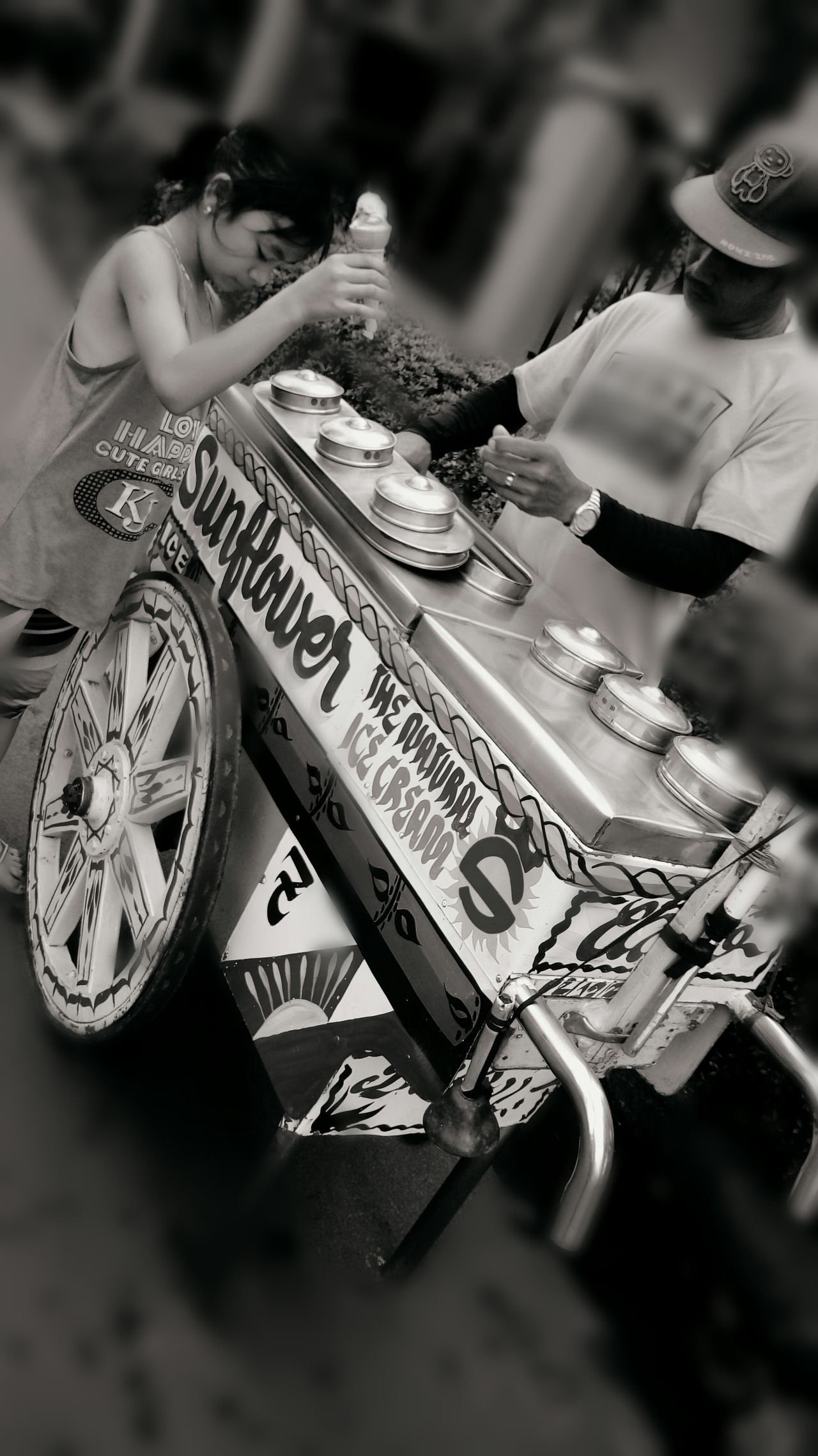 Dirty Ice Cream Vendor Street Kid Eyeem Philippines Marble St., Las Piñas City Philippines