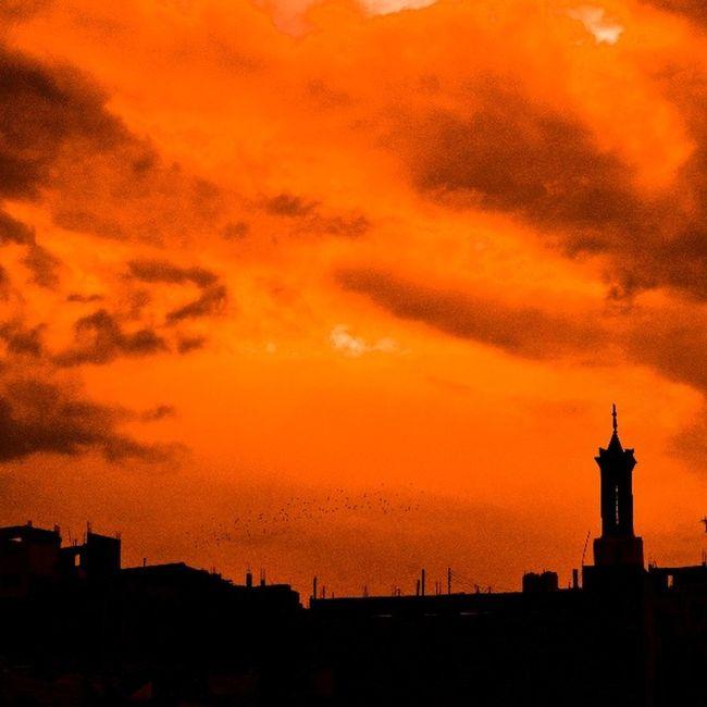 Sky Skymasters Sky_masters Skyviewers skygram orange clouds amman seeamman beamman jordannature jordanbeauty beautifuljordan beautifulsky beautifulamman spiritofjordan