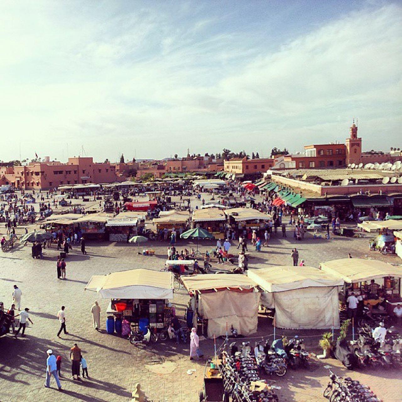Marokko Marrakech Djemelfnaa