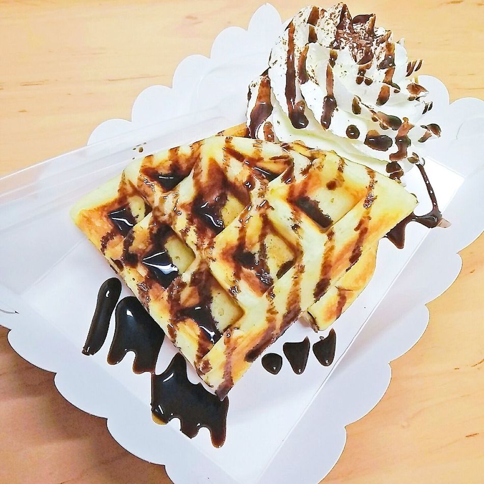 Waffle Sauce Topping Chocolate มีความฟินนนน