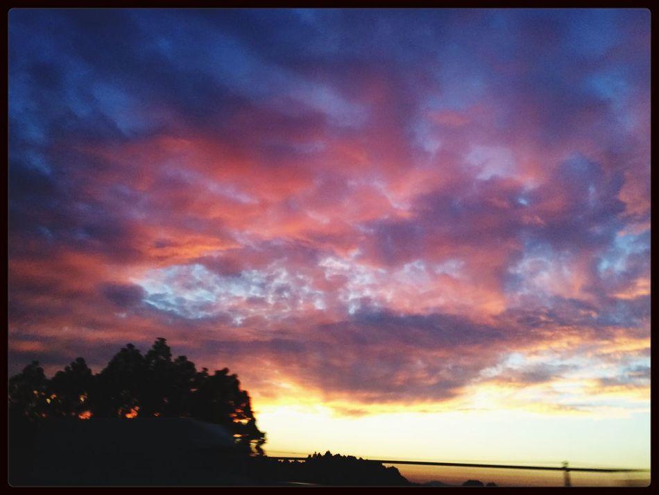 Cloud And Sky Evening Sunset