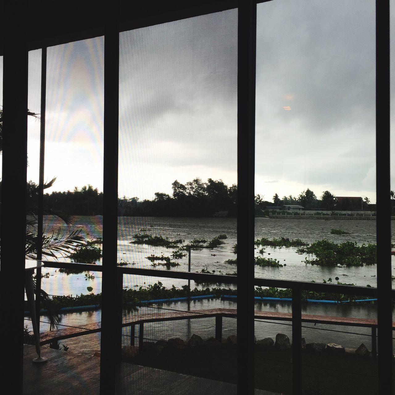 Rainy See View River Samutsongkram Thailand Thegrace Resort