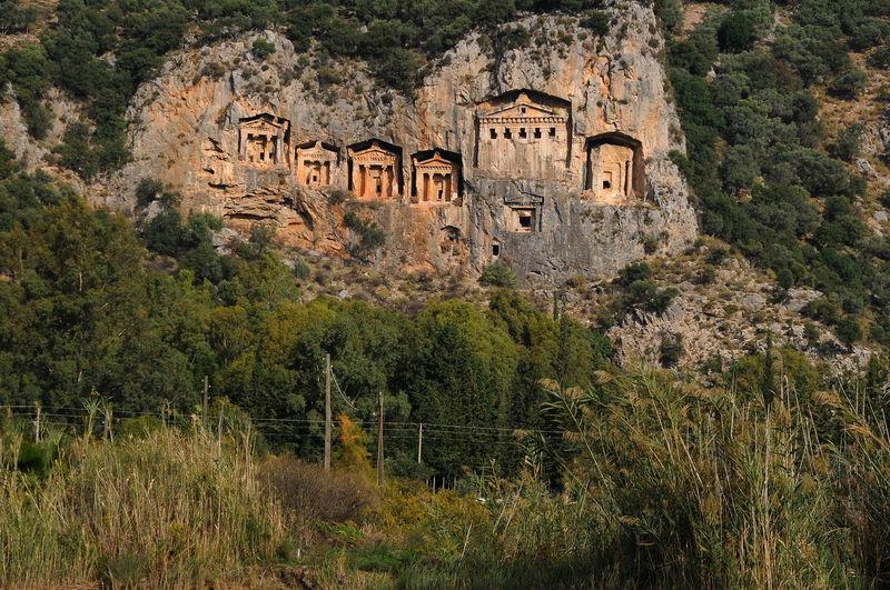 cemetery Burial Site Burial Site Of Kings Cemetery History Kaunus Turkey Burial Site