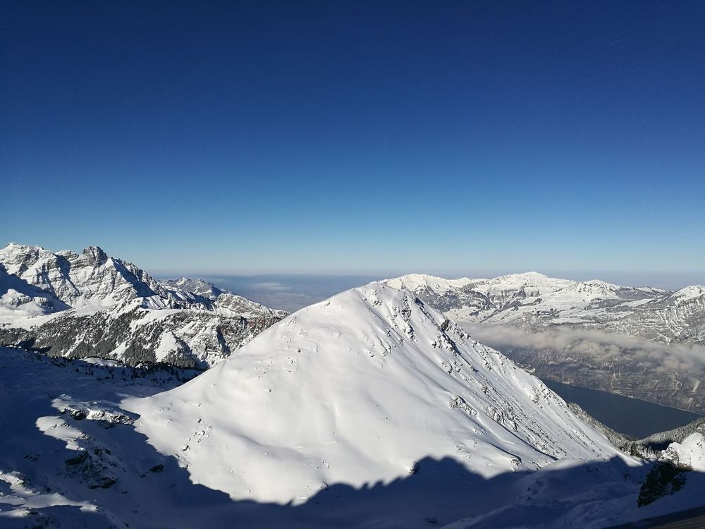 Flumserberg Snow Switzerland Winter Nature Mountain View Skiing Beautiful Sun Cold