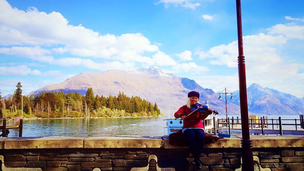 Lovelife Musician Newzealand Enjoying Life Violin