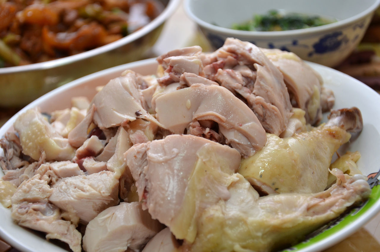 food and drink, food, ready-to-eat, freshness, no people, indoors, healthy eating, close-up, serving size, bowl, meat, plate, day