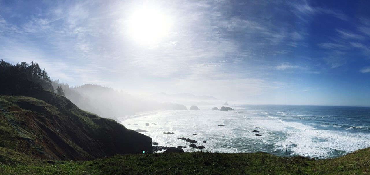 Landscape_Collection Landscapes With WhiteWall Landscape_photography Commercial Photography Oregon Coast Oregon Pacific Northwest  PNW Haystack Rock Coast Goonies Forever Goonies Ocean Sea Waves And Rocks Waves, Ocean, Nature Waves Crashing Waves Rolling In Landscapewithwhitewall