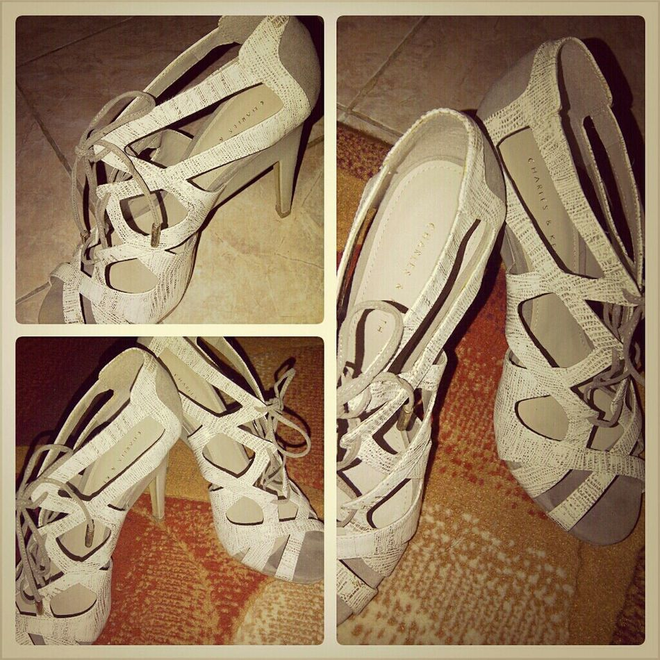 """My New Shoes """"charles N Keith"""
