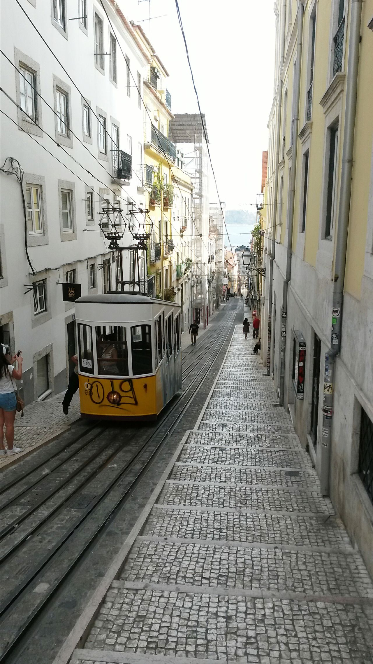 Lisbon Portugal Tram On The Way Outdoors Outdoor Pictures Outdoor Photography Outdoor Beauty Traveling Travel Travel Photography Travelgram Embrace Urban Life My Year My View Finding New Frontiers EyeEm Diversity Resist The Secret Spaces