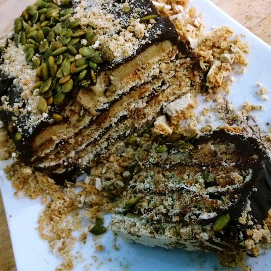 Dacquoise Dessert Chocolate Pepita